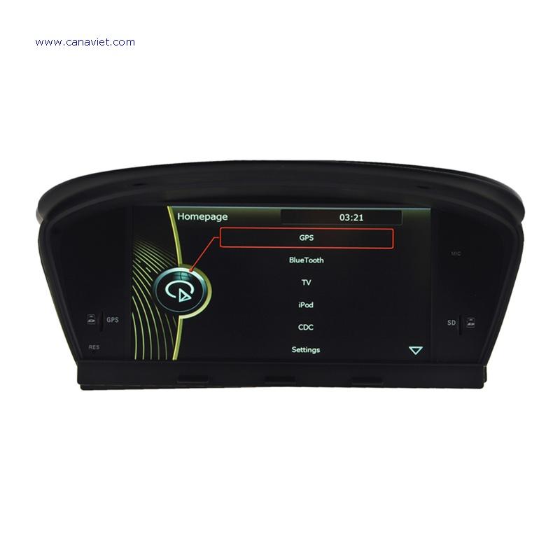 Bmw 5 Series E60 E61 M5 Gps Navigation Head Unit: Car Radio DVD GPS Navigation Stereo Audio BMW M5 E60 E61