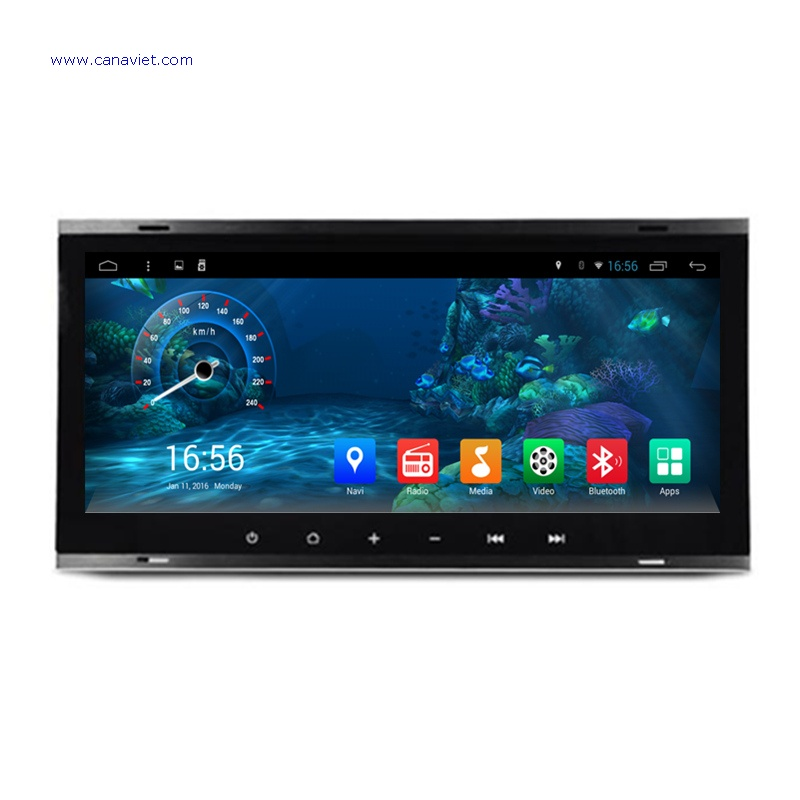 Android Car Radio Dvd Gps Navigation Central Multimedia Stereo Vw Volkswagen Touareg T5 Multivan