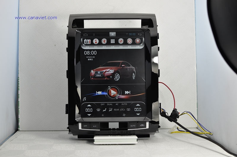 Vertical Screen Tesla Android Autoradio Headunit Car