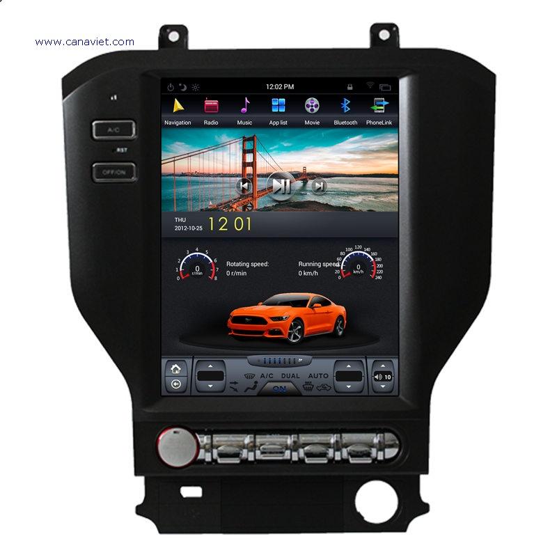 Tesla Style Vertical Screen Android Sat Nav Autoradio Car