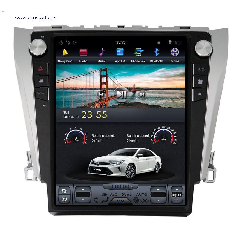 Tesla Style Vertical Screen Sat Nav Android Autoradio Car