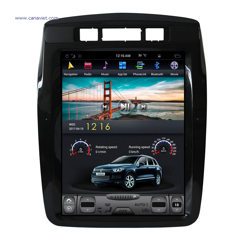 Vertical Screen Tesla Android Autoradio Car Multimedia