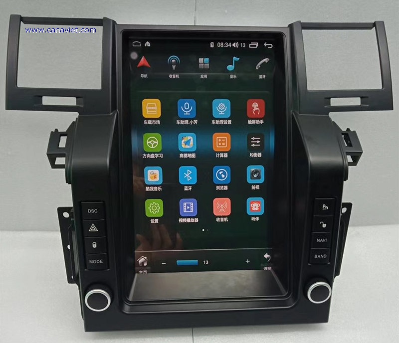 Vertical Screen Tesla Android Car Stereo Radio Audio Dvd