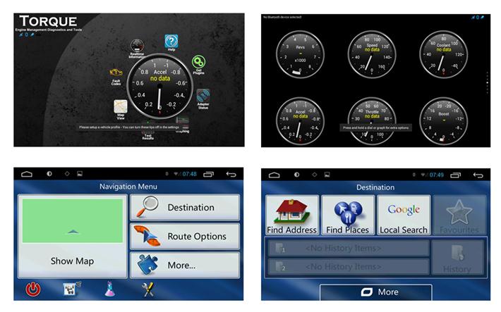 android car radio dvd gps navigation central multimedia. Black Bedroom Furniture Sets. Home Design Ideas