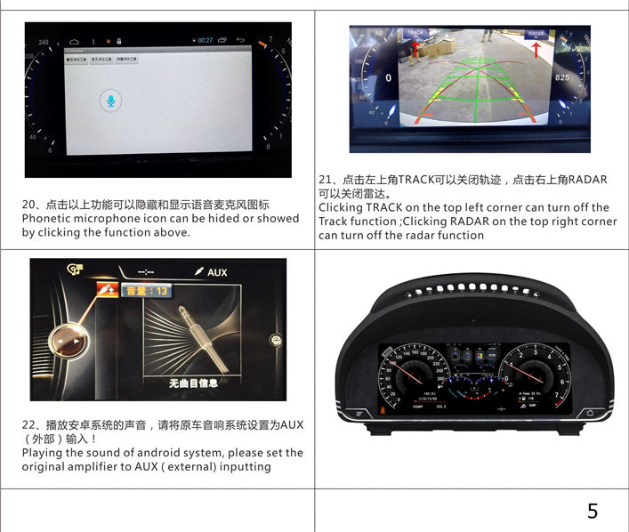 Android Lcd Instrument Dashboard Replacement Bmw F10 2013